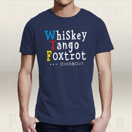 T-Shirt Fancyduke Design Whiskey Tango Foxtrot