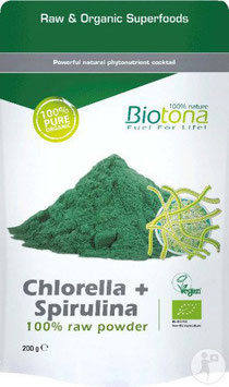 chlorella + spiruline
