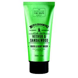 VETIVER & SANDALWOOD Hair & Bodywash 200ml