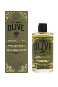 KORRES PURE GREEK Olive Nährendes 3 in 1 Öl 100ml