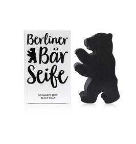 Berliner Bär Seife schwarz 60g