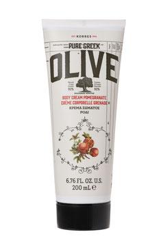 KORRES PURE GREEK Olive & Pomegranate Körpercreme 200ml