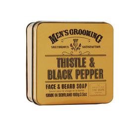THISTLE & BLACK PEPPER Gesichtseife 100g