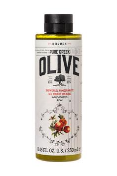 KORRES PURE GREEK Olive & Pomegranate Duschgel 250ml