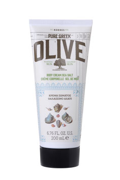 Olive & Sea Salt Körpercreme 200ml