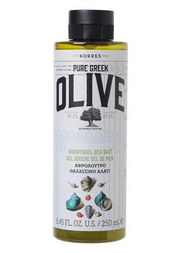 Olive & Sea Salt Duschgel 250ml
