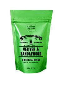 VETIVER & SANDALWOOD Mineralbad 500g