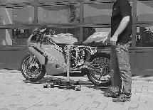 Zentralständer Ducati 748 / 916 / 996 / 998 / 999