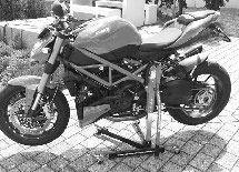 Zentralständer Ducati 848 Streetfighter ab Modell 2012