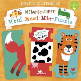 Die bunten Tiere - Mein Maxi-Mix-Puzzle