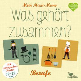 Mein Maxi-Memo – Was gehört zusammen? – Berufe