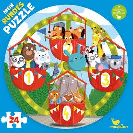Mein rundes Puzzle –  Auf dem Riesenrad