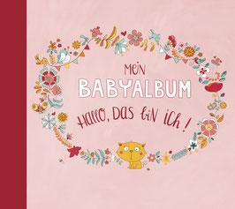 Mein Babyalbum – Hallo, das bin ich! (Mädchen)