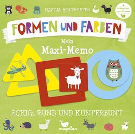 Eckig, rund und kunterbunt – Mein Maxi-Memo – Formen und Farben