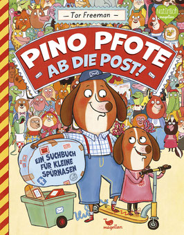 Pino Pfote – Ab die Post! – Band 2