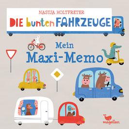 Die bunten Fahrzeuge – Mein Maxi-Memo