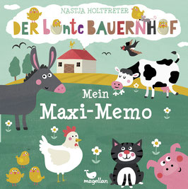 Der bunte Bauernhof – Mein Maxi-Memo