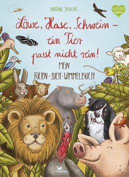 Löwe, Hase, Schwein - ein Tier passt nicht rein! Mein Riesen-Such-Wimmelbuch