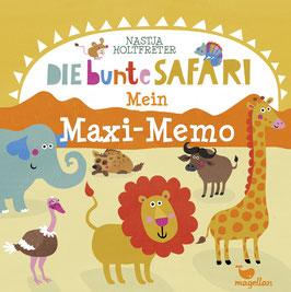 Die bunte Safari - Mein Maxi-Memo
