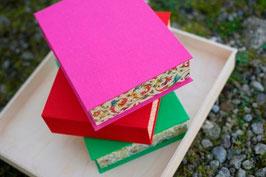 BOX A5 Stoff/ Papier