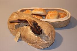 "Brotdose in Brotform für 1 KG Brot; "" Hauerbrot"""