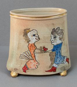 """Vase """"Einliebesdurcheinander"""""""
