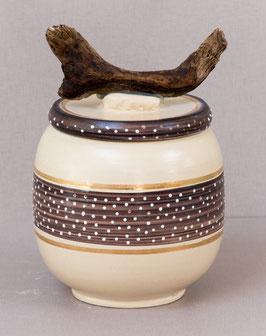 """Keramikdose """"Naturverbunden 2"""""""