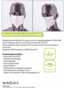 10er Pack Mundschutz EVOLON, wiederverwendbar