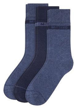 MUSTANG Men Basic Socks 2er Pack