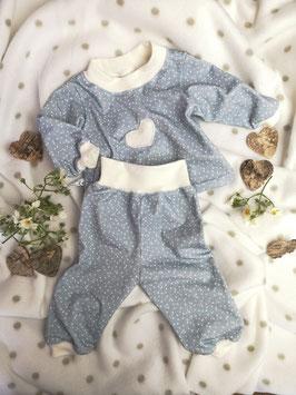 Puppenschlafanzug 2teilig