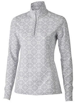 MERINO SUPERSOFT POLO WOMEN STAR // grau