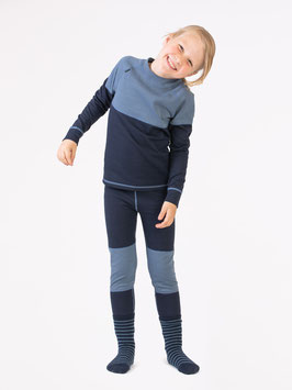 MERINO SUPERSOFT SET JUNIOR // blau