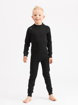 MERINO SUPERSOFT SET JUNIOR // schwarz