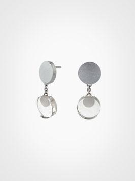 Ohrringe Silber Bergkristall Stecker