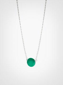 Halskette Anhänger Achat Grün