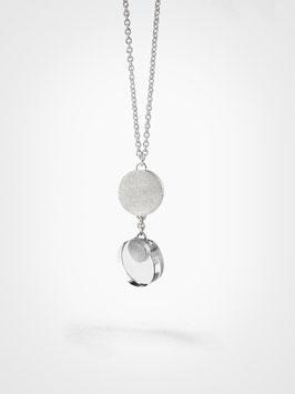 Halsschmuck Silber Bergkristall klein