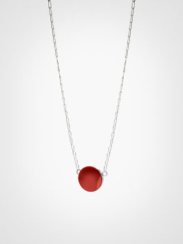 Halskette Anhänger Achat Rot