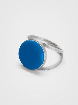 Ring Achat Blau