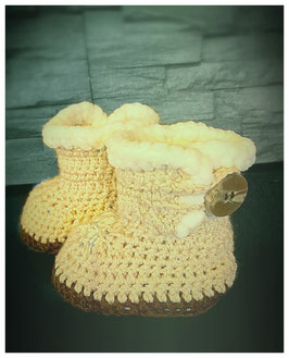 "Krabbelfinken ""sweet winter boot"" Artikelnummer: 0055"