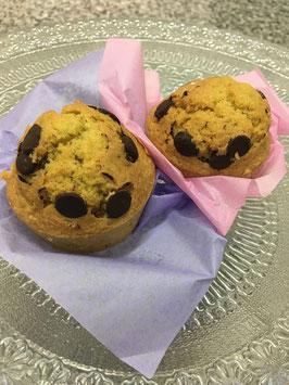 Muffins au Citron et Chocolat Bio Sans Gluten et Sans Lait d'origine animale