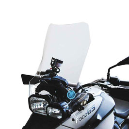 Windshield BMW F650GS | F800GS with hand protectors