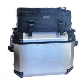 Additional bags on TRIUMPH EXPEDITION aluminium side panniers