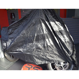 Motorcycle cover - black