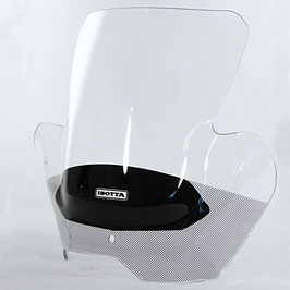 BMW F800R Double Bubble Windshield