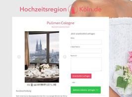 Anbieter-Präsenz auf Hochzeitsregion-Köln.de