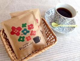 ●3つの味が楽しめる      ドリップバックコーヒー
