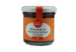 Merm. de fresa, naranja y cacao 170 gr