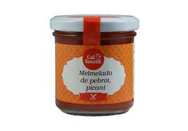 Mermelada de pimiento, picante  170 gr
