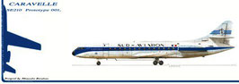 cp N°2 Caravelle SUD-AVIATION