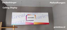 Plafondhanger Banner van Forex plaatmateriaal.